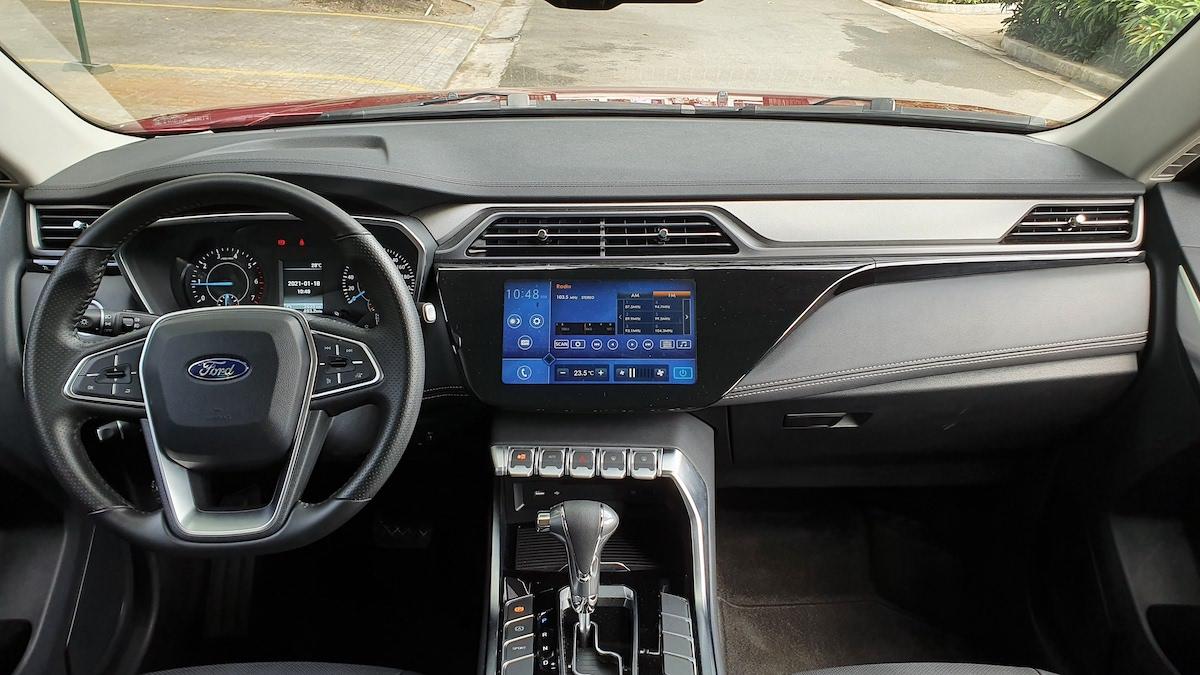 The 2021 Ford Territory dashboard