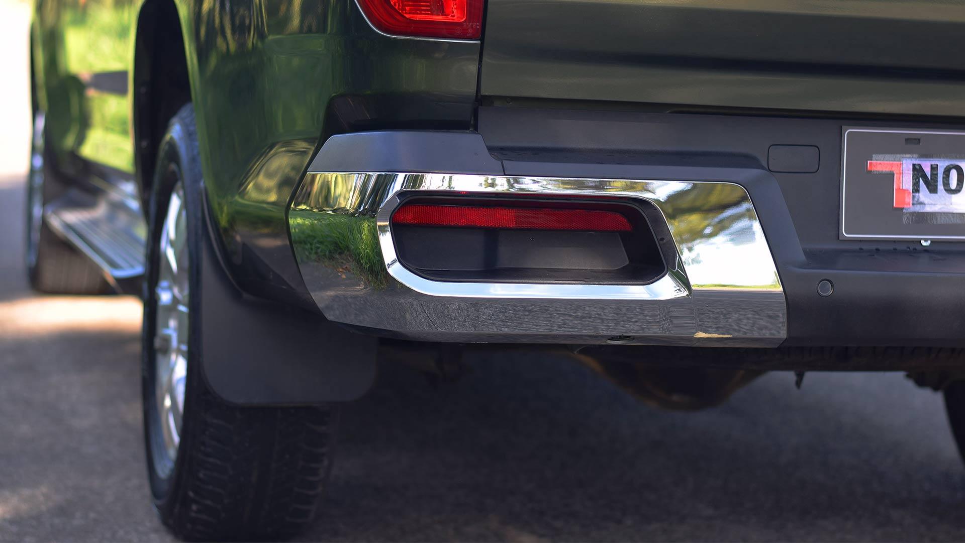 The Maxus T60 rear detail