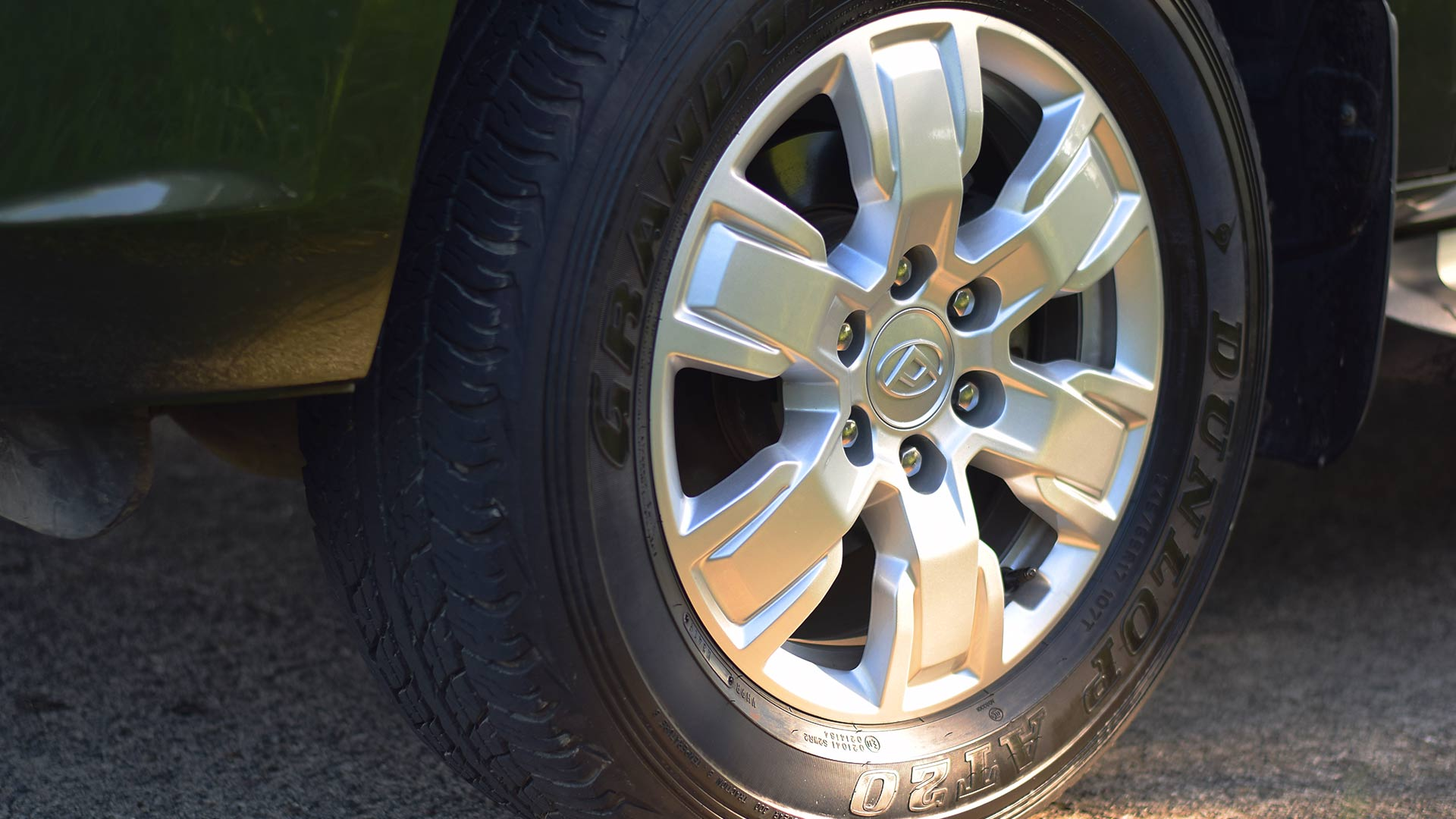 The Maxus T60 tire detail