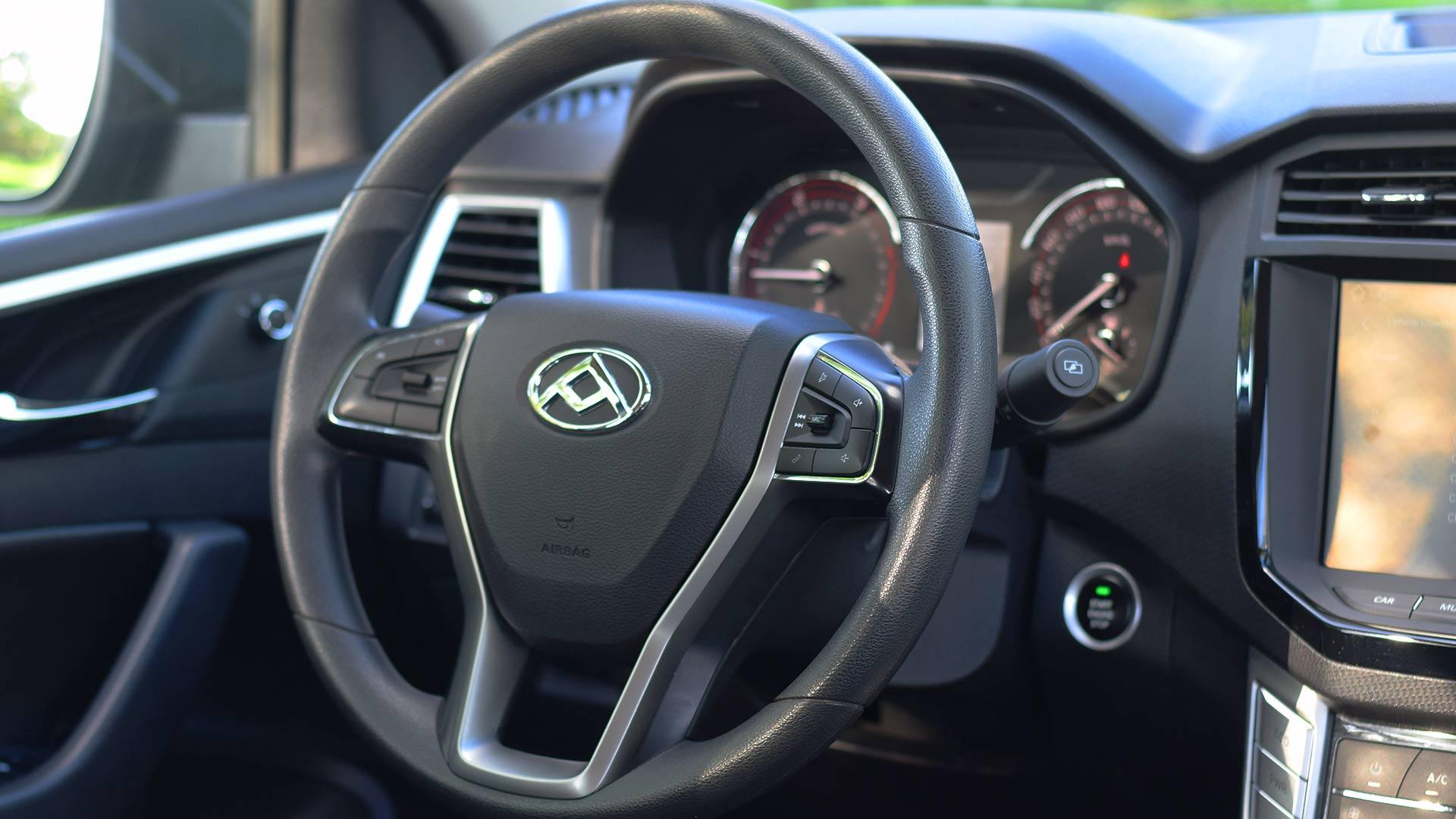 The Maxus T60 steering wheel