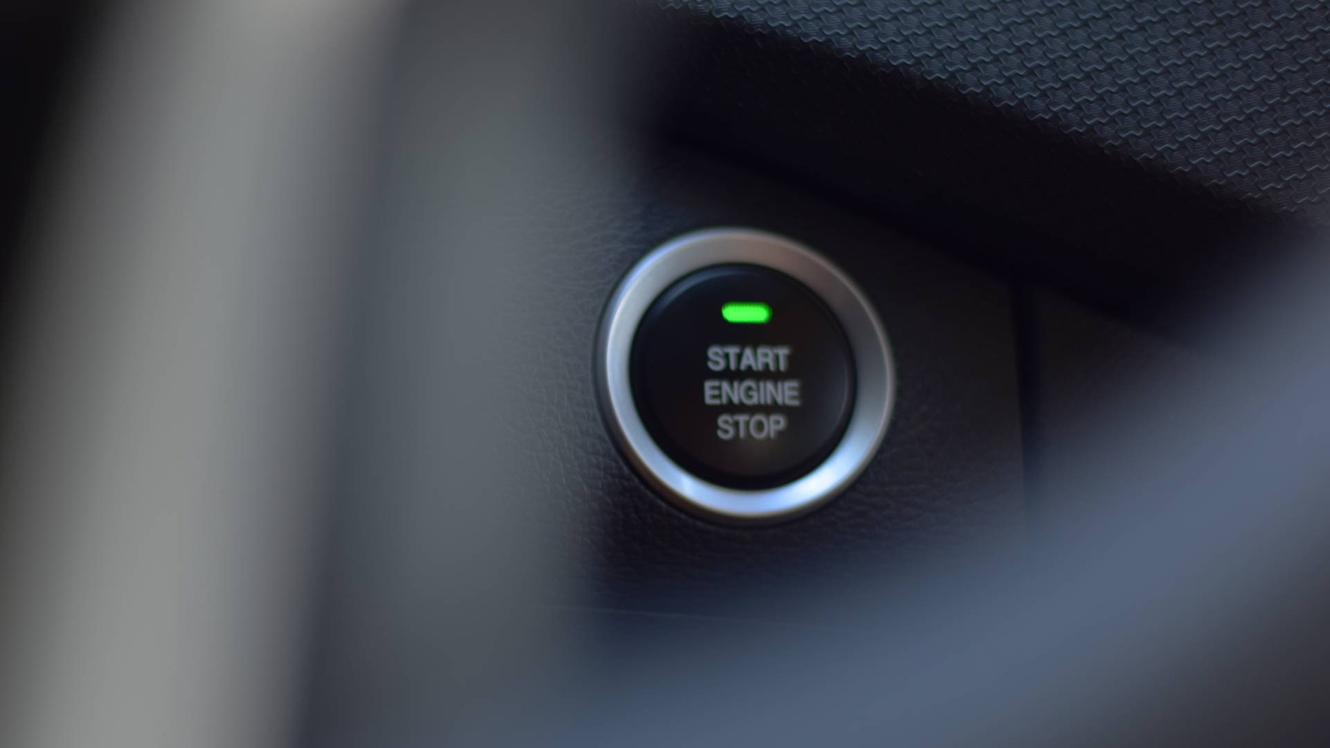 The Maxus T60 engine button