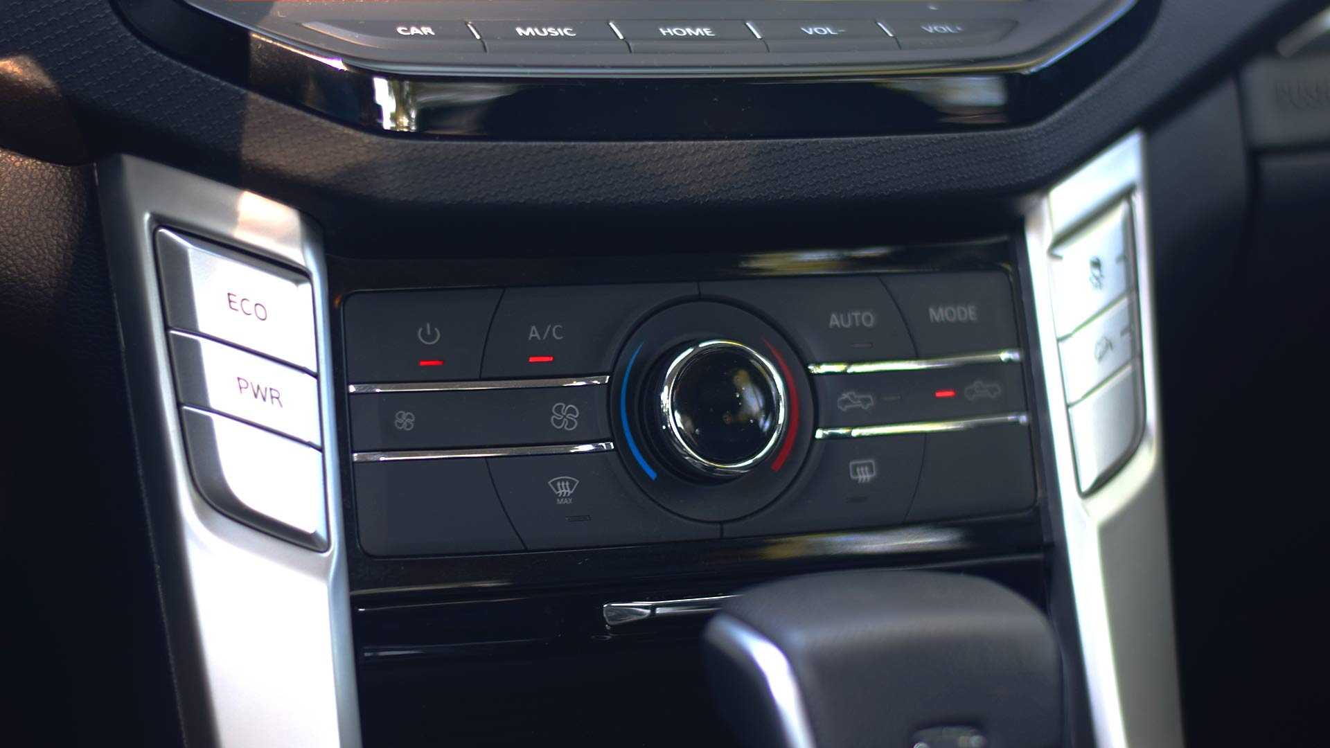 The Maxus T60 steering wheel controls