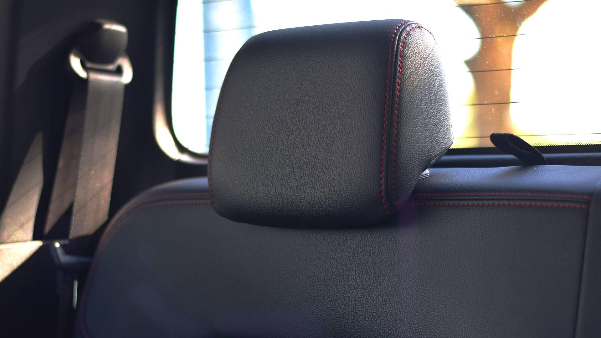 The Maxus T60 rear seat headrest