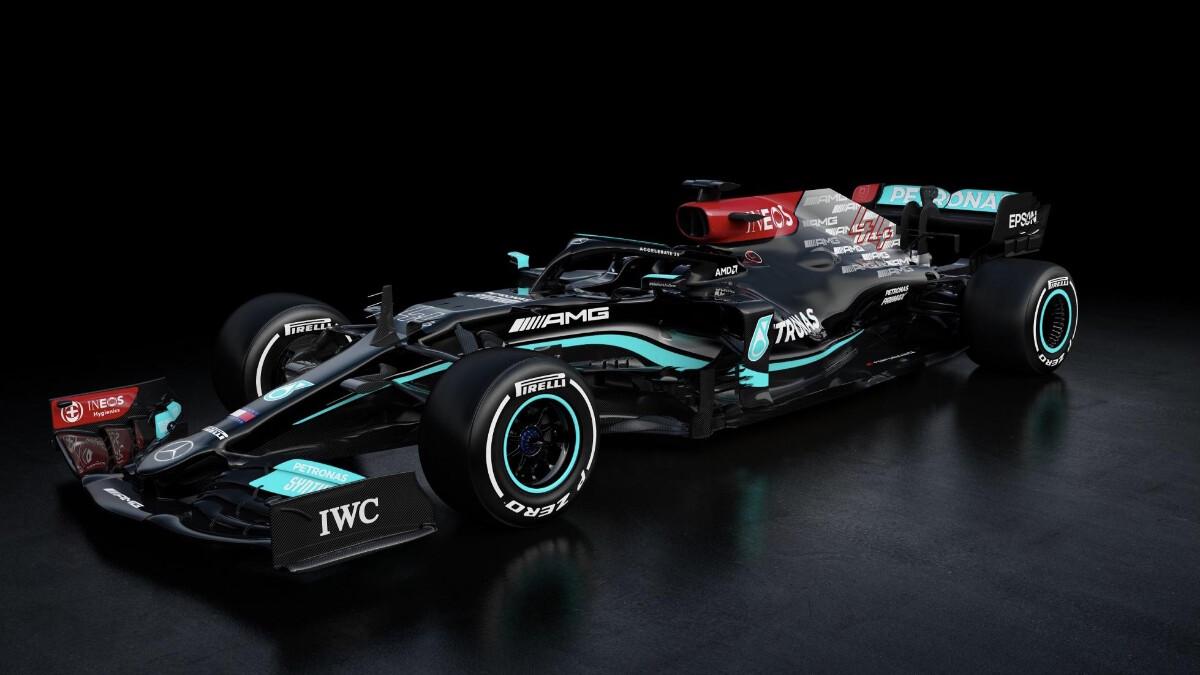The Mercedes-AMG W12 E Performance
