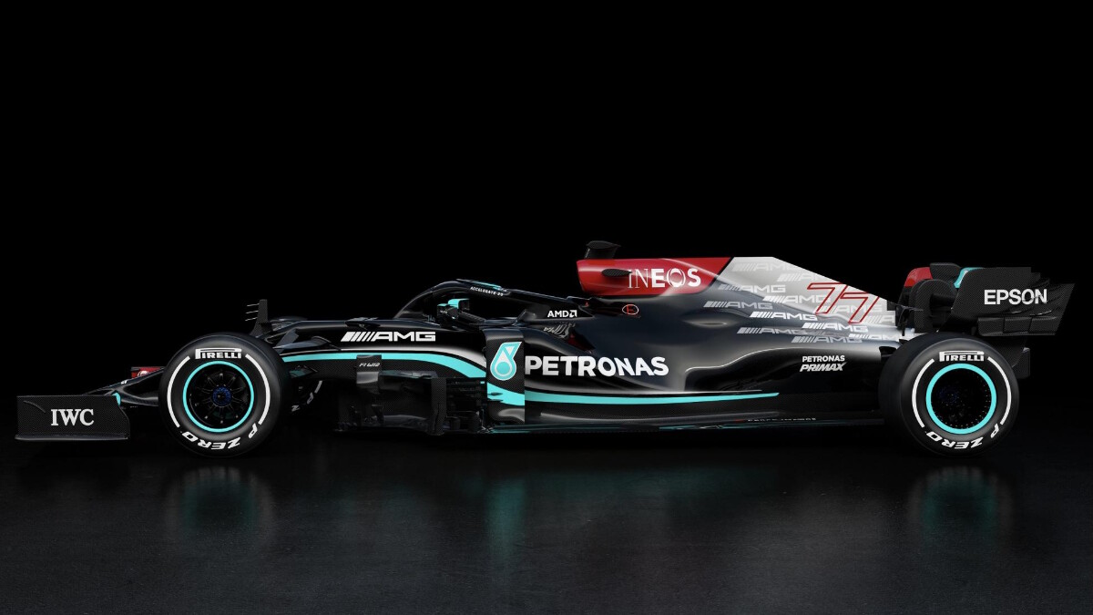 The Mercedes-AMG W12 E Performance profile