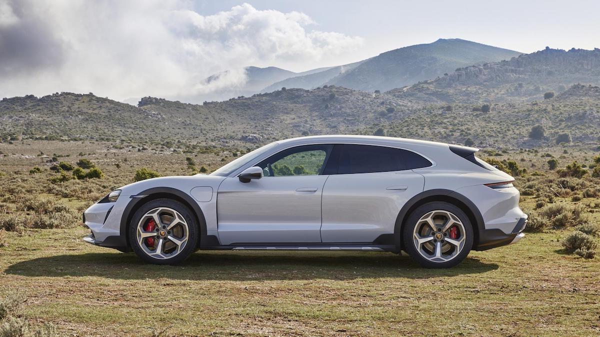 The Porsche Taycan
