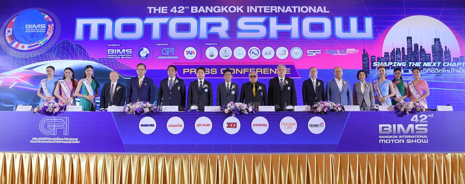 Panel of participats at the Bangkok International Motor Show
