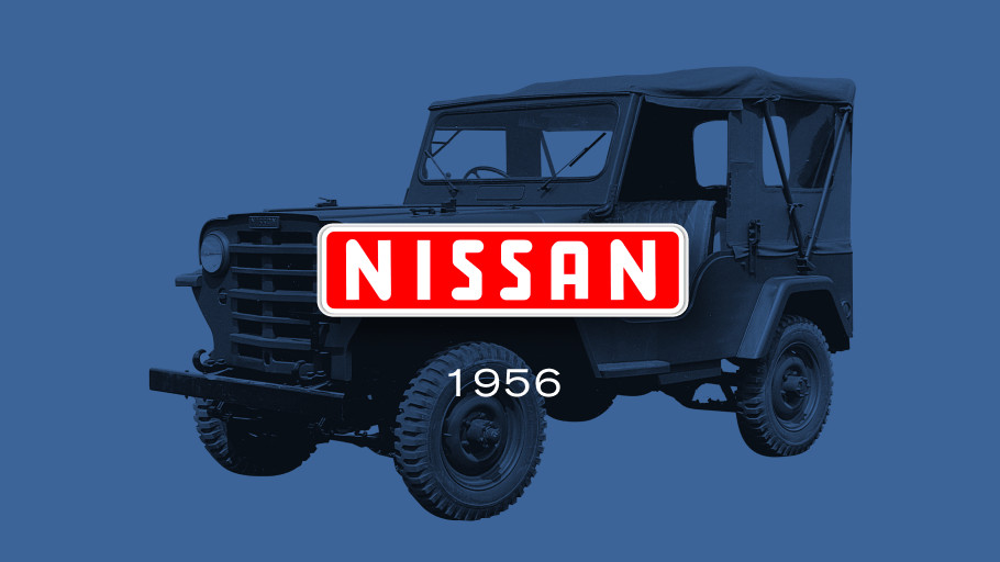 The Nissan Logo from 1956