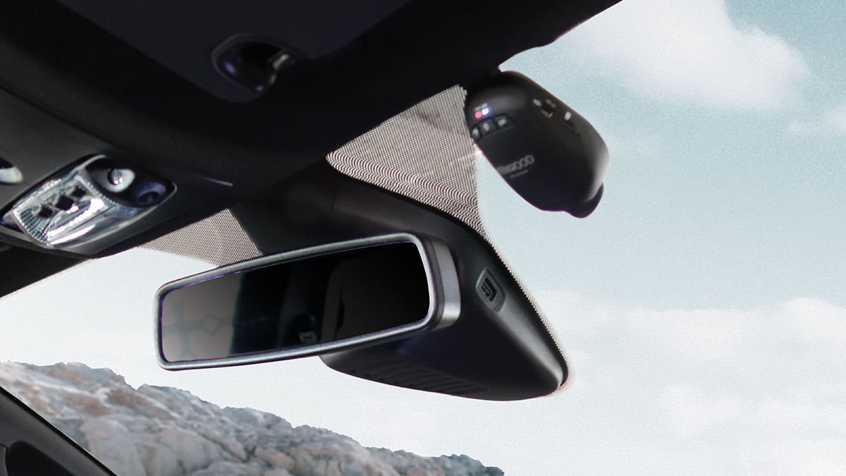 The Ford Ranger Raptor X Special Edition rear view mirror