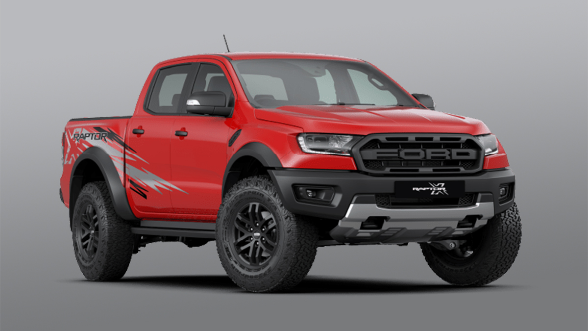 The Ford Ranger Raptor X Special Edition