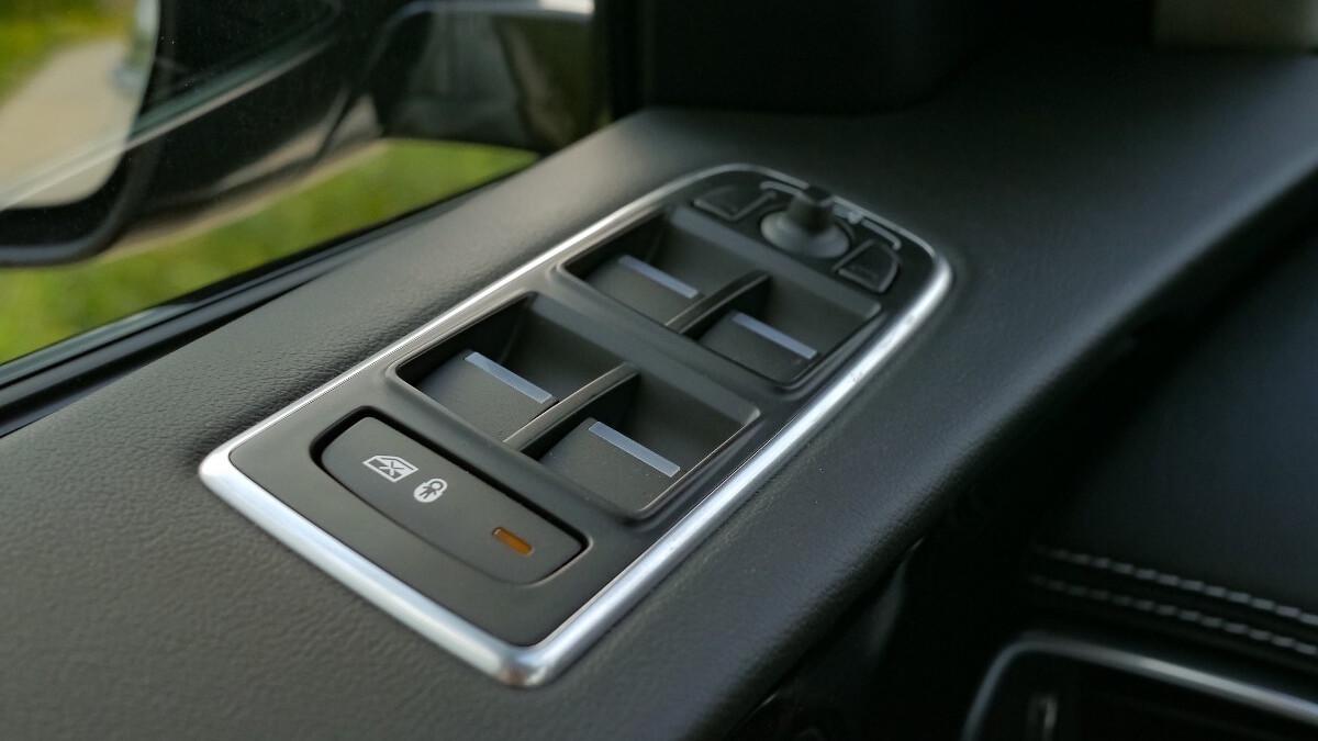 Jaguar F-Pace R-Sport Driver''s Side Door Controls