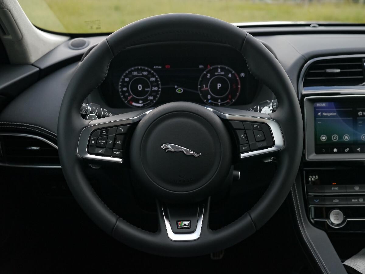Jaguar F-Pace R-Sport Steering Wheel