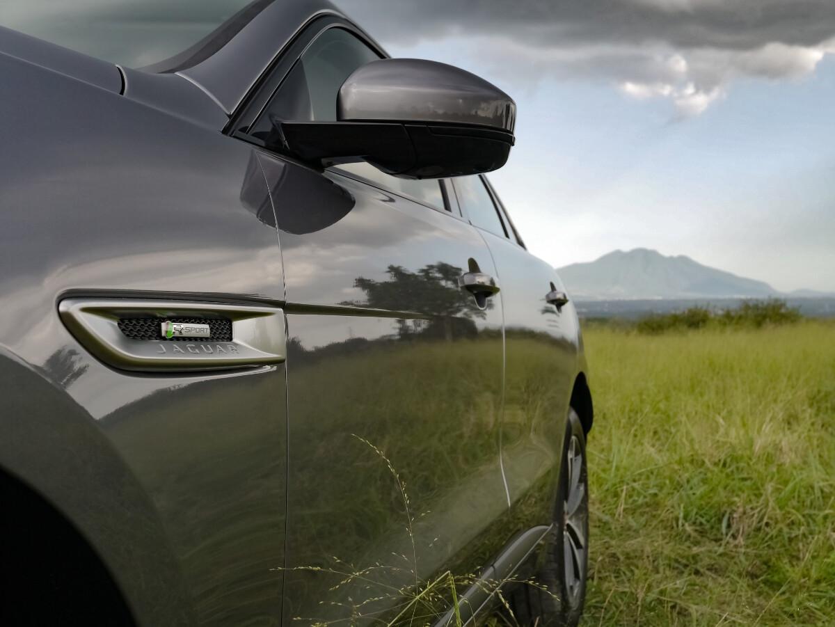 Jaguar F-Pace R-Sport Left Side Close Up