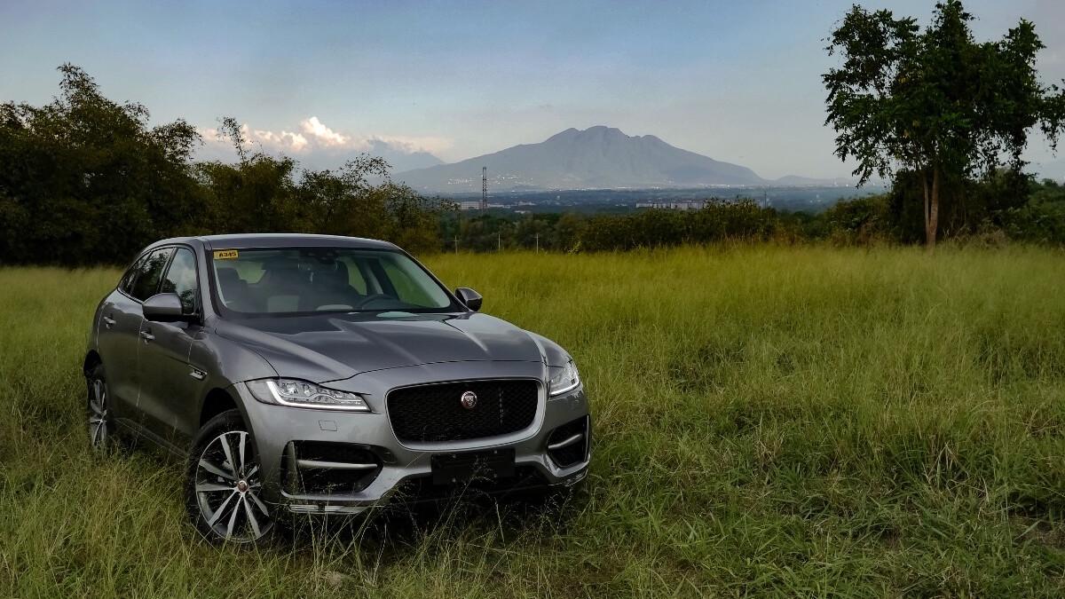 Jaguar F-Pace R-Sport Outdoor Shot