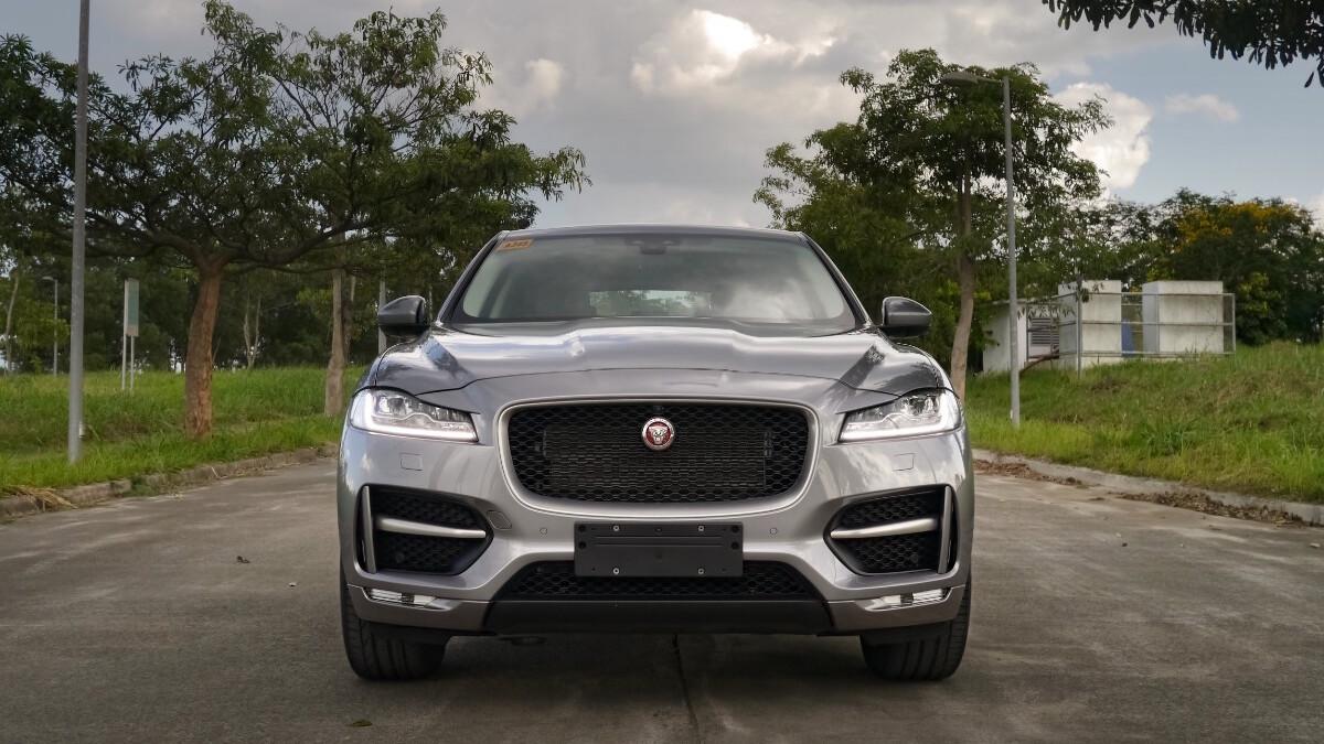 Jaguar F-Pace R-Sport Full Front View