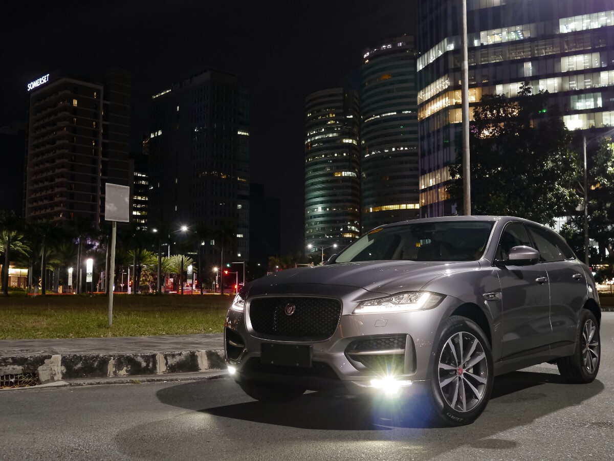 Jaguar F-Pace R-Sport Angled Front View