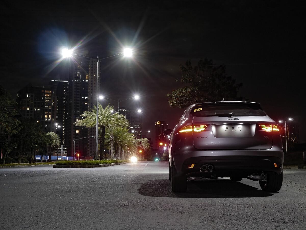 Jaguar F-Pace R-Sport Rear View