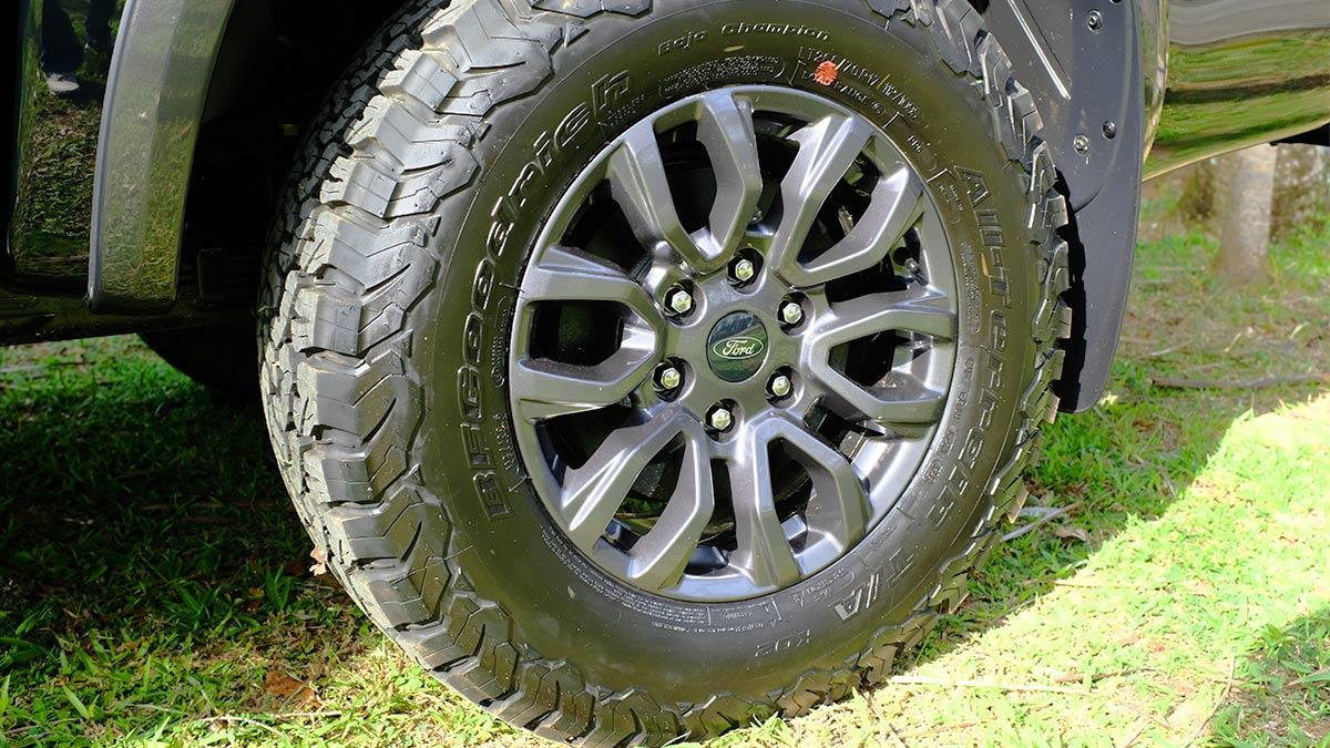 Ford Ranger FX4 Max Rear Tire