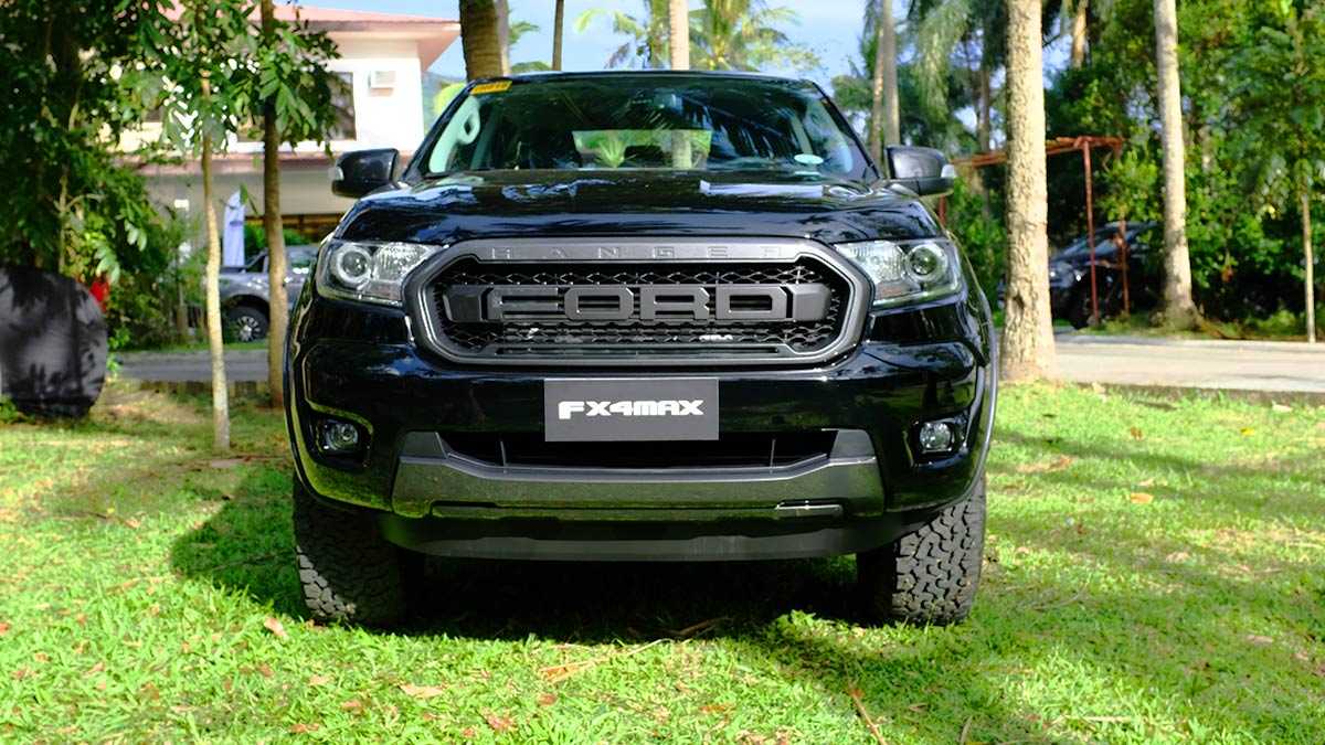 Ford Ranger FX4 Max Front View