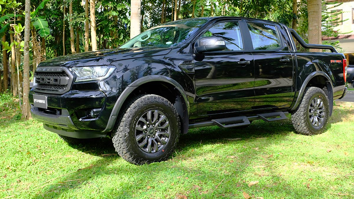 Ford Ranger FX4 Max Angled Side View