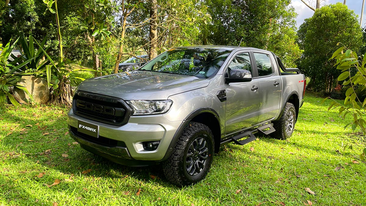 Ford Ranger FX4 Max Angled Front View