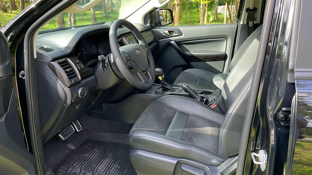 Ford Ranger FX4 Max Front Passenger Seats