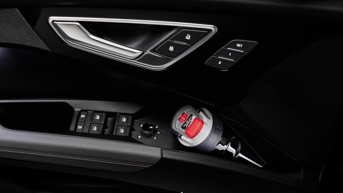 The Audi Q4 e-tron Driver Side Door Controls