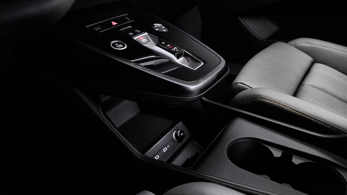 The Audi Q4 e-tron Center Console