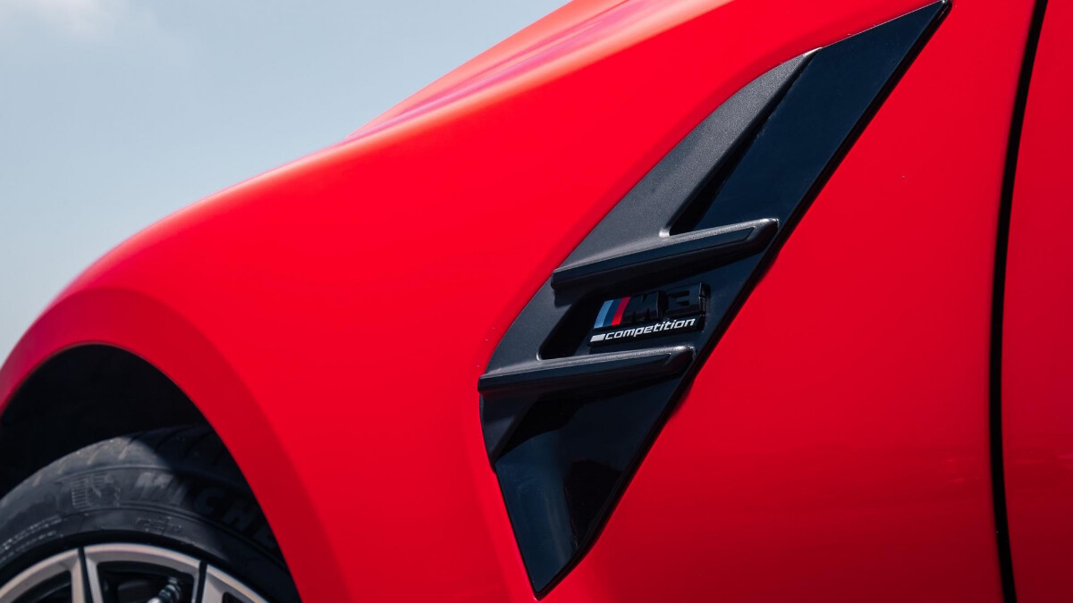 The BMW M3 Front Close Up