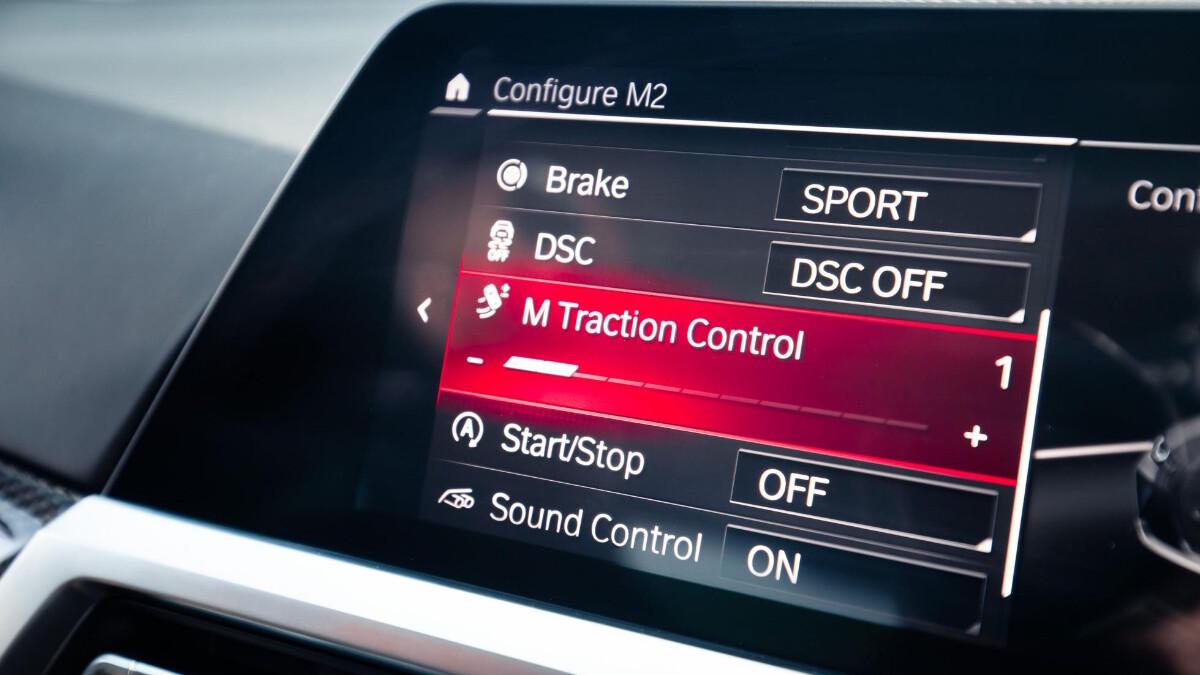 The BMW M3 Control Dashboard