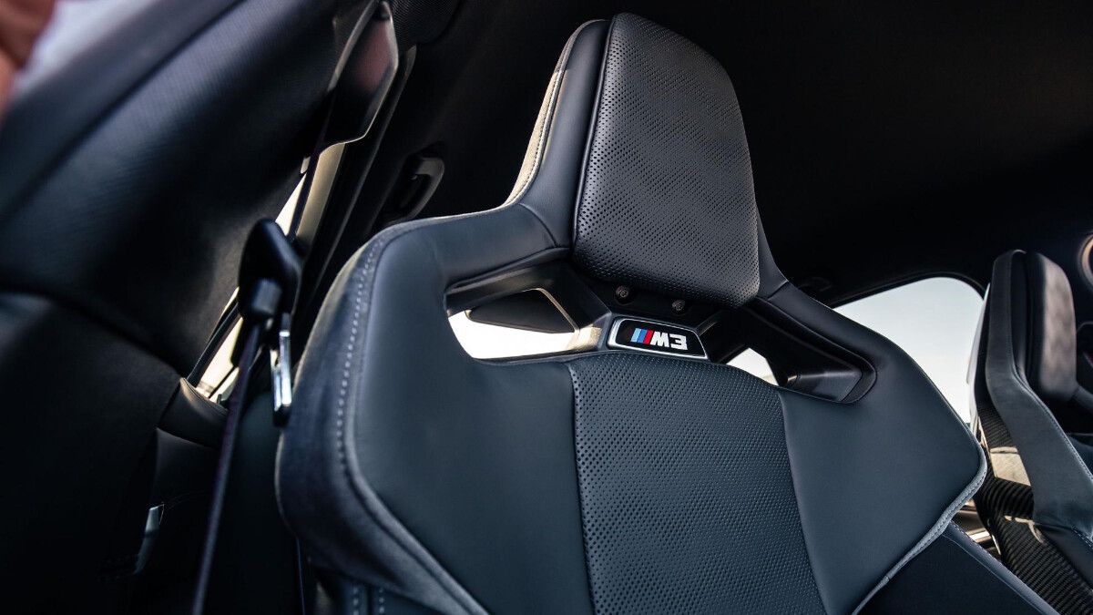 The BMW M3 Driver's Seat