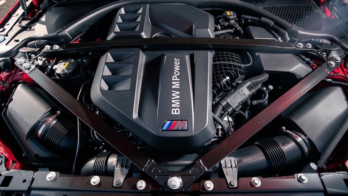 The BMW M3 Engine