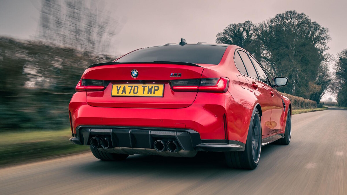The BMW M3 Alternative Rear View