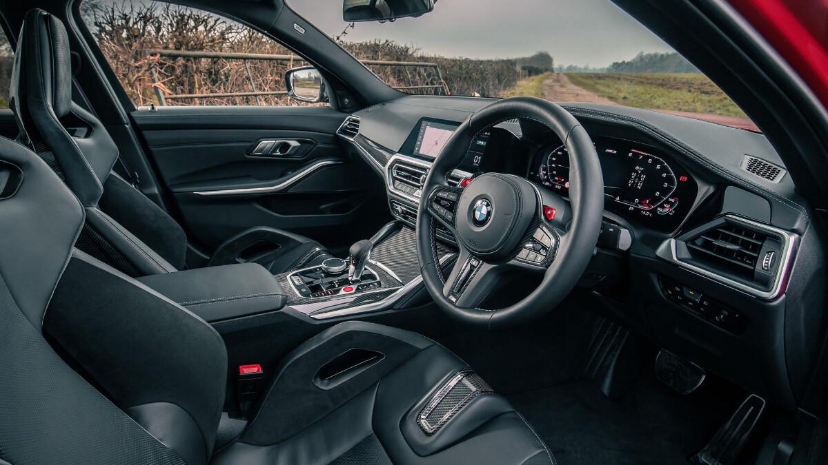 The BMW M3 Front Passenger Seats