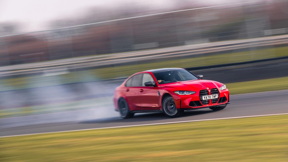 The BMW M3 On the Road
