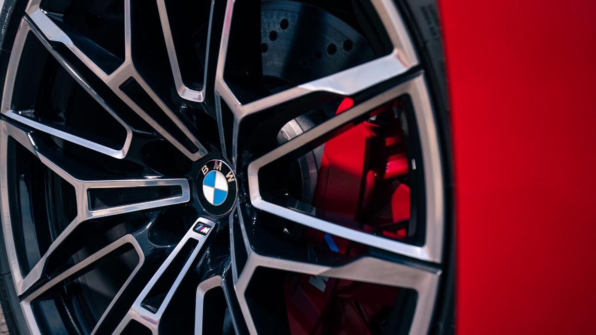 The BMW M3 Tire Close Up