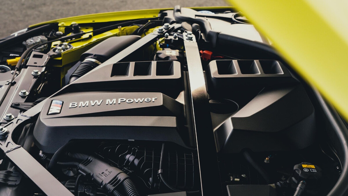 The BMW M4 Competition  Engine