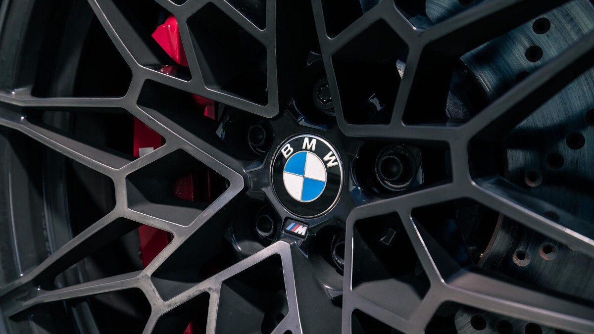 The BMW M4 Competition Rim Detail