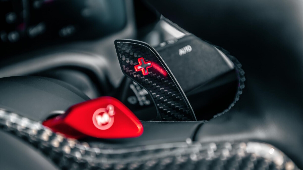 The BMW M4 Competition Steering Wheel Controls Detail