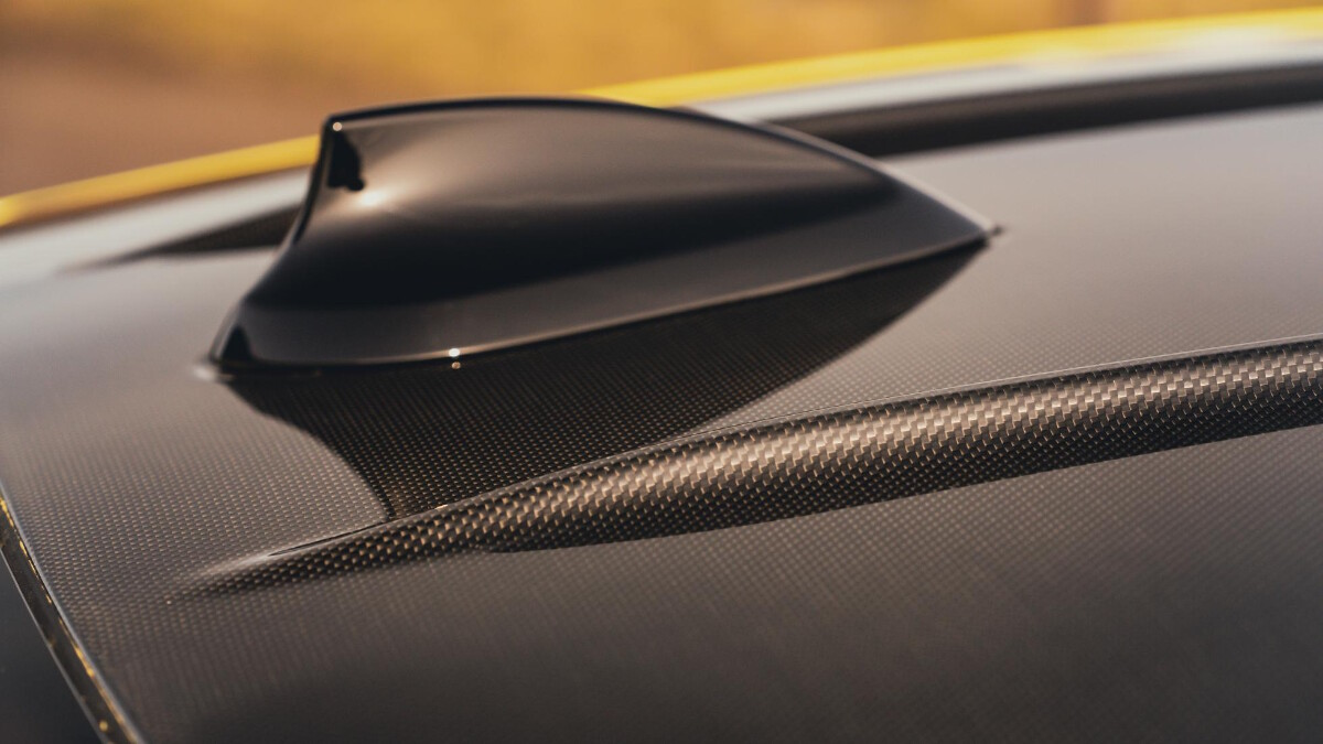 The BMW M4 Competition Top Fin