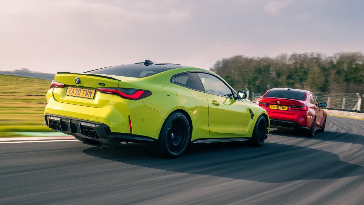 The BMW M4 Competition test drive