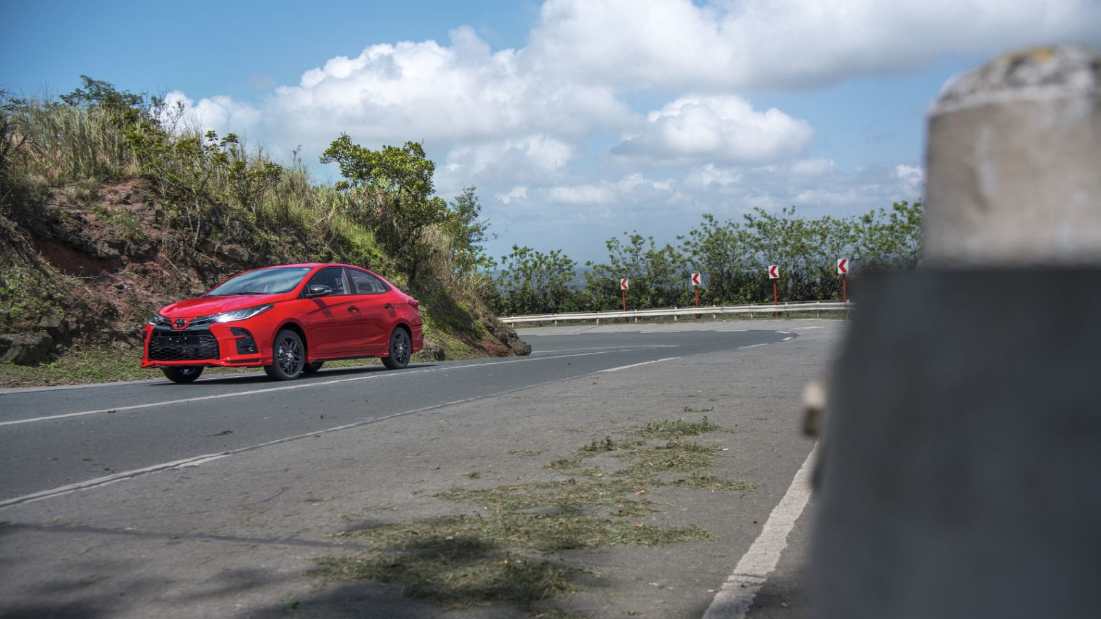 Toyota Vios GR-S Wide Angled Shot