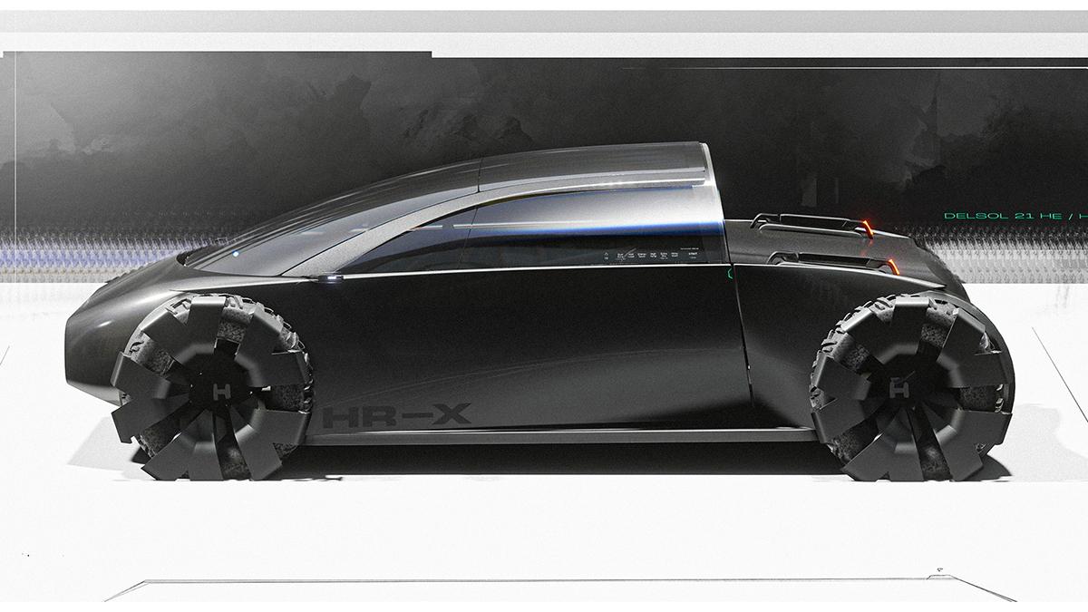 The Honda HR-X Concept Profile