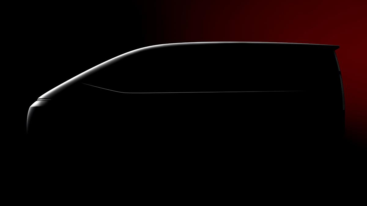 The Hyundai Staria Profile View