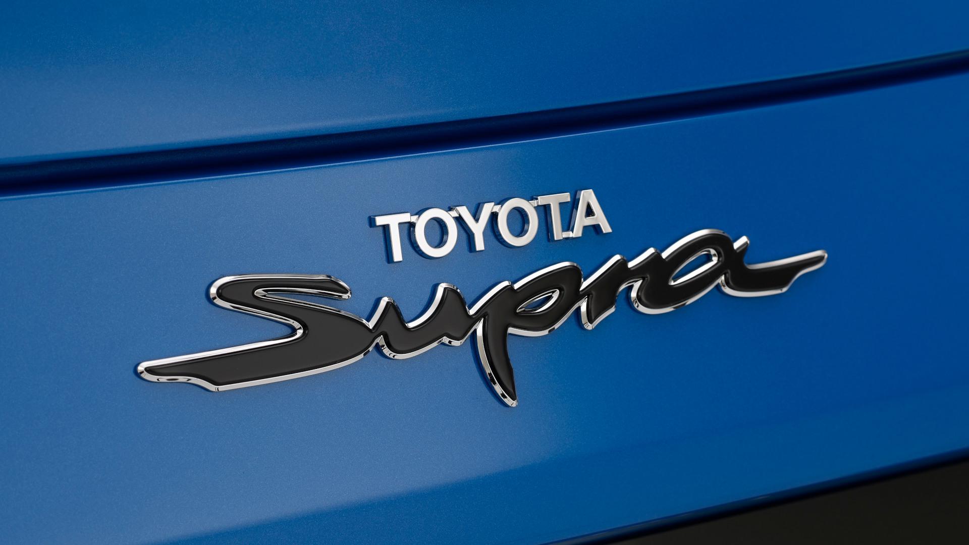 The Toyota Supra Jarama Racetrack Edition Emblem