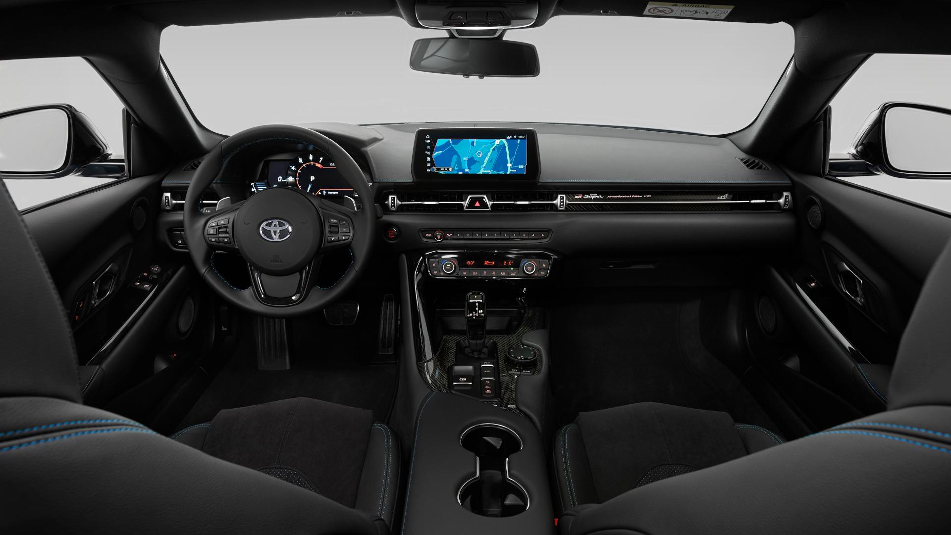 The Toyota Supra Jarama Racetrack Edition Dashboard