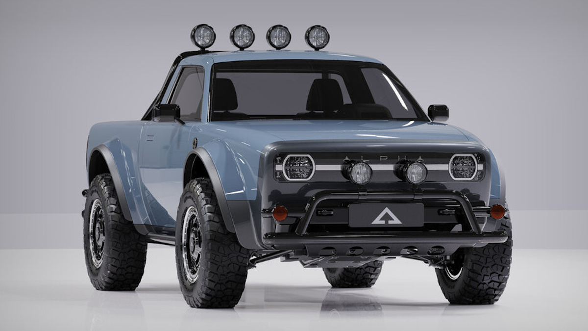 The Alpha Motor Corporation Wolf Electric Pickup Truck