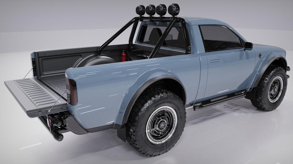 The Alpha Motor Corporation Wolf Model Alternative Side View