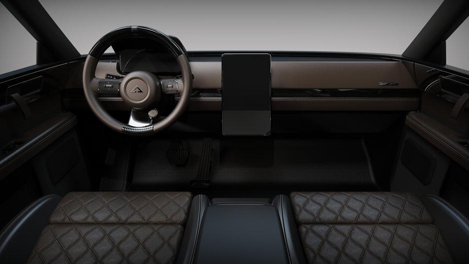 The Alpha Motor Corporation Wolf Model Interior Dashboard