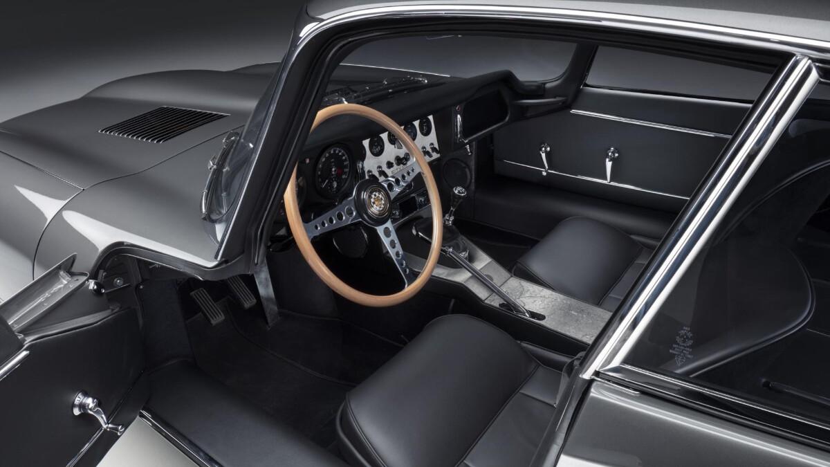 The Jaguar E-Type Front Passenger Seats